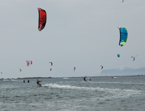 Lo Stagnone wind for kitesurfing this spring