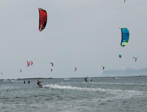 (Italiano) Lo Stagnone vento record per il Kitesurf questa primavera