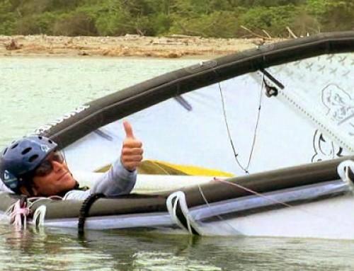 "Kitesurf week end e il ""seccavento"""