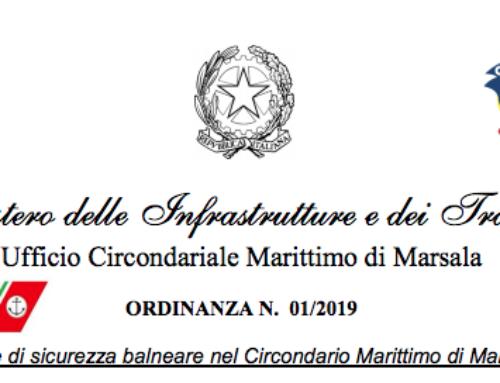Kitesurf allo Stagnone Nuova Ordinanza Guardia Costiera 2019